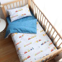 100 percent cotton crib bedding set