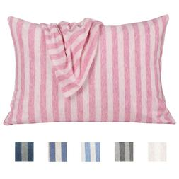 Organic Cotton Toddler Pillowcases 2 Pack Ultra Soft Cozy Pi