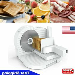 """Electric Meat Slicer 6.7"""" Deli Bread Cheese Food Cheese Kitc"""