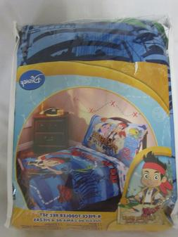 Disney Jake and the Neverland Pirates 4 Piece Toddler Beddin