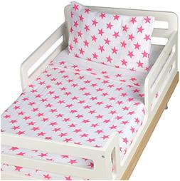aden + anais Classic Toddler Bed in a Bag - Fluro Pink Kids