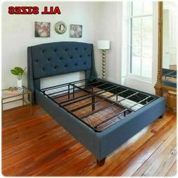All Sizes Bed Frame Sturdy Metal Mattress Base Replaces Bed