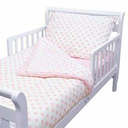 American Baby Company Toddler Bedding Set - with White Stars