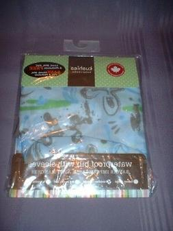 KUSHIES BABY WATERPROOF BIB WITH SLEEVES CATCH-ALL POCKET ~