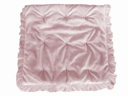 Baby Doll Bedding  Layered Crib Comforter, Pink