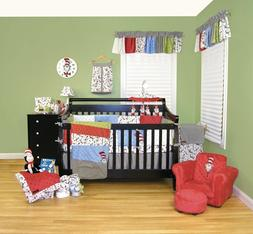 Trend Lab Dr Seuss Cat In The Hat Baby Crib Bedding CHOOSE F