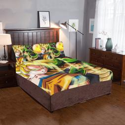 Dragon Ball Z 3-Pieces Bedding Set 2 Pillowcases And 1 Quilt