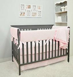 American Baby Company Heavenly Soft 6 Piece Crib Bedding Set
