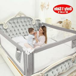 """Kids Baby Bed Rails Toddlers 80"""" Extra Long Baby Bed Rail Gu"""