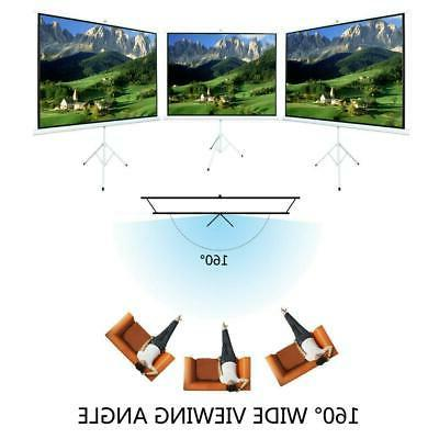 Portable Projection Projector Screen Pull Up with