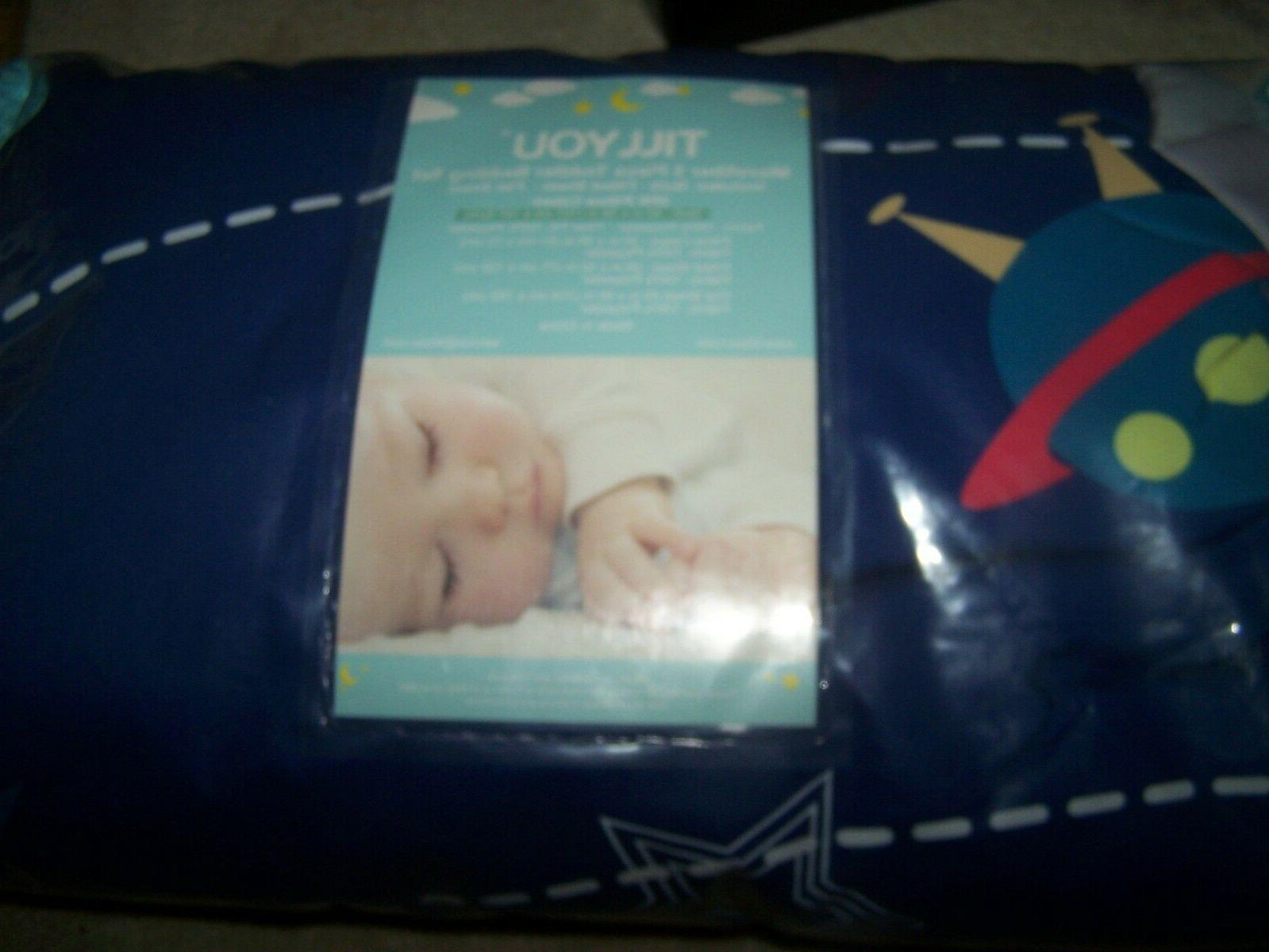 5 pieces microfiber toddler bedding set quilted