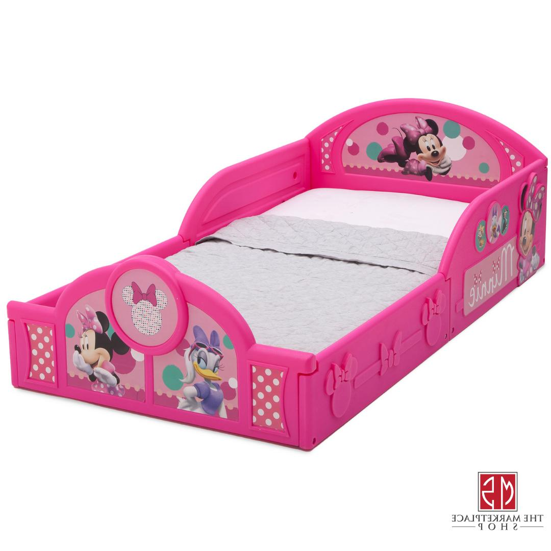 DISNEY BED TODDLER Kids MINNIE MOUSE