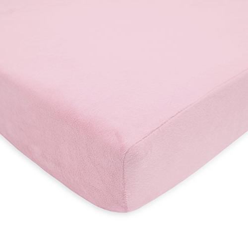 American Baby Company Soft Chenille Pink Company