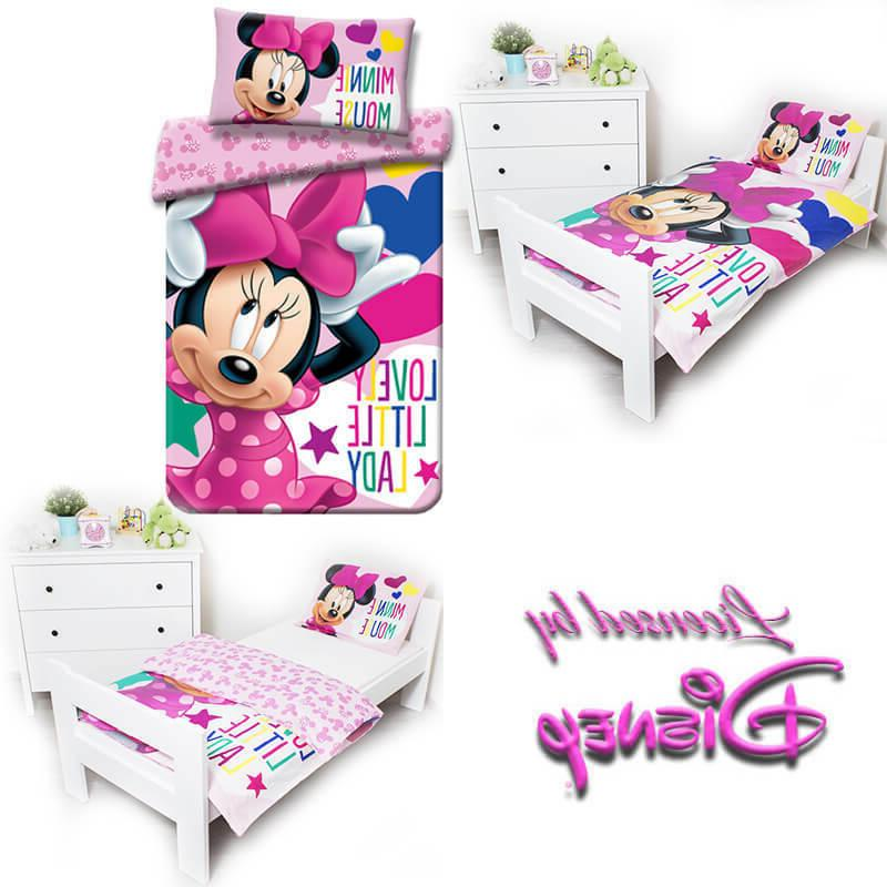 MINNIE cot cotbed toddler pink bedding kids