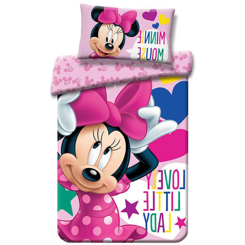 minnie mouse bedding cotton cot cotbed toddler