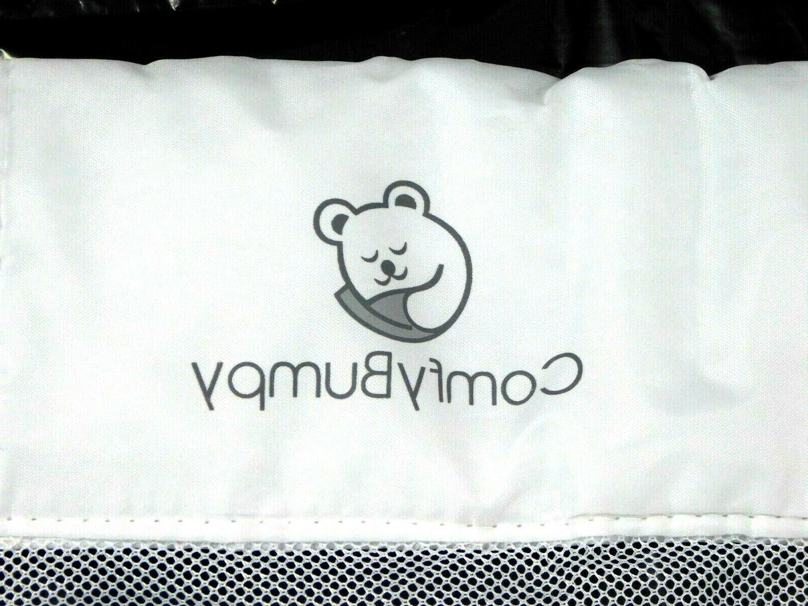 NEW REPLACEMENT FABRIC & Short COMFYBUMPY Kid Bed Guard