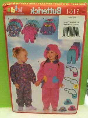 Butterick Toddlers Girls Jumpsuit UC