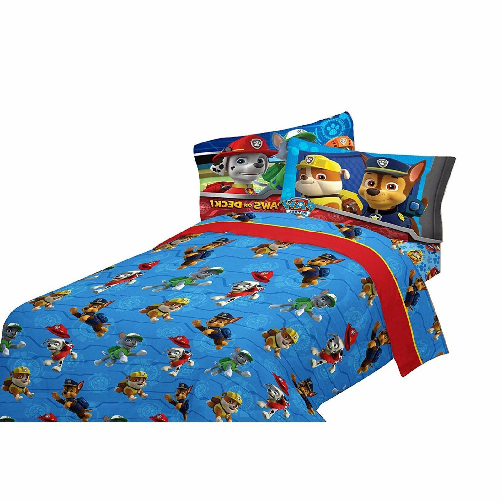 Toddler Sheets Boys Paw Rescue with Set