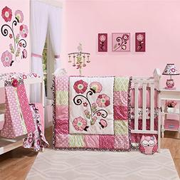 Lainey 6 Piece Crib Bedding Set by The Peanut Shell