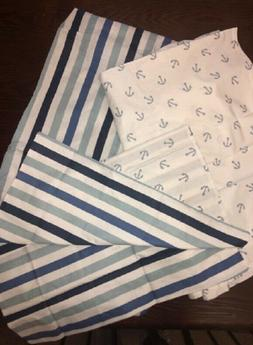 BACATI LITTLE SAILOR 3 PIECE TODDLER BEDDING SET,ANCHOR /STR
