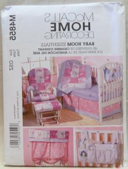 McCall's 4855 Nursery decor pattern, butterfly quilt, Organi