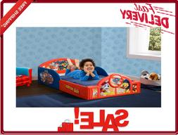 Nick Jr. PAW Patrol Plastic Sleep And Play Toddler Bed By De