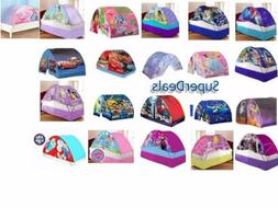 Disney and Nickelodeon Character Kids and Toddlers Bed Tent