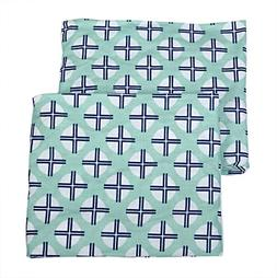 Bacati Noah Tribal Crib/Toddler Bed Fitted Sheets Cotton Per
