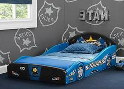 Delta Children Police Car Sleep and Play Toddler Bed with At