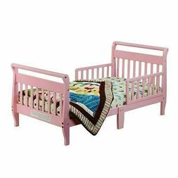 Dream On Me Sleigh Toddler Bed - Pink