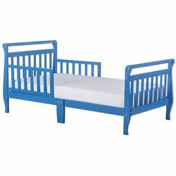 Dream On Me Sleigh Toddler Bed, Wave Blue, 24 Pound