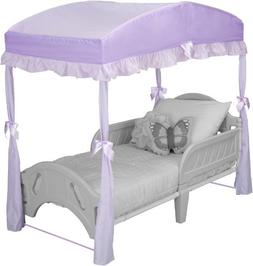 Delta Toddler Bed Canopy, Purple
