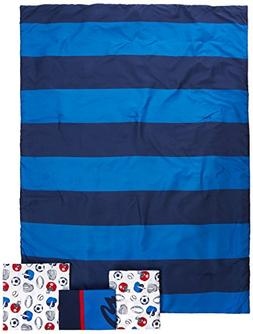 """Carter's 4-Piece Toddler Set, Blue/White/Red All Star, 52"""" x"""