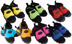 Kushies Toddler Size Pool & Beach Water Swim Shoes for Child