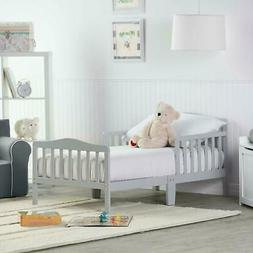 Wood Toddler Bed Sleep and Play Toddler Bed Boys Girls Toddl